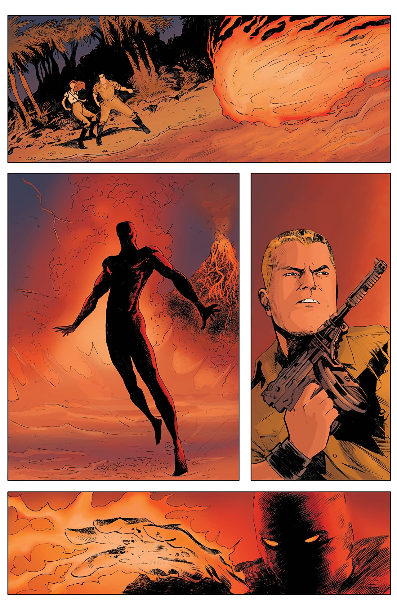 Doc Savage: Ring Of Fire #1