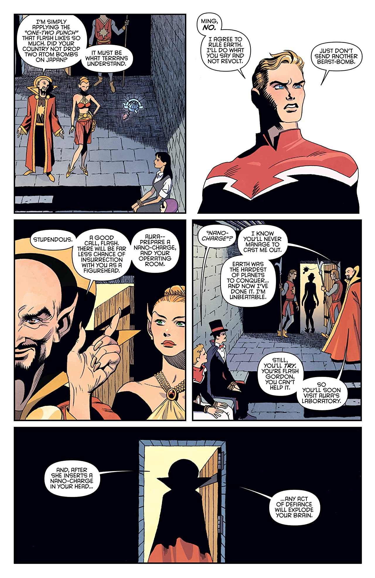 Flash Gordon: Kings Cross #5