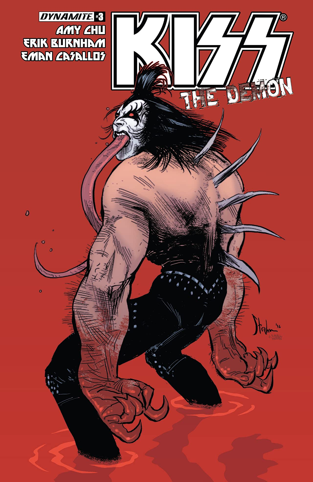 Kiss: The Demon #3