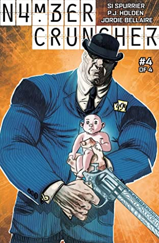 Numbercruncher #4 (of 4): Digital Exclusive Edition