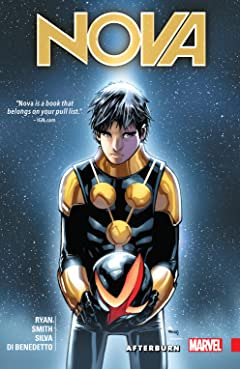 Nova: The Human Rocket Vol. 2: After Burn
