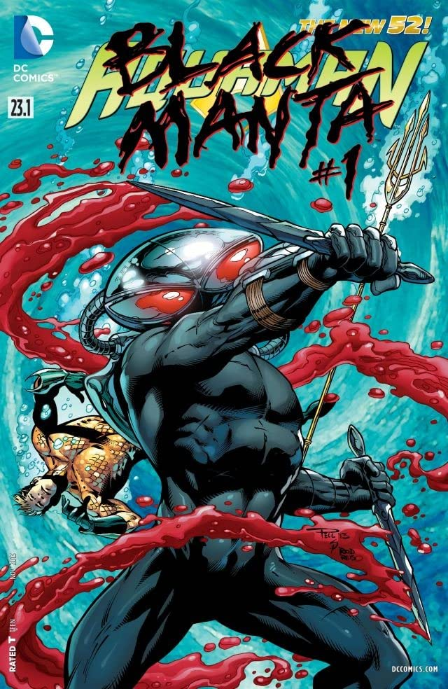 Aquaman (2011-) #23.1: Featuring Black Manta