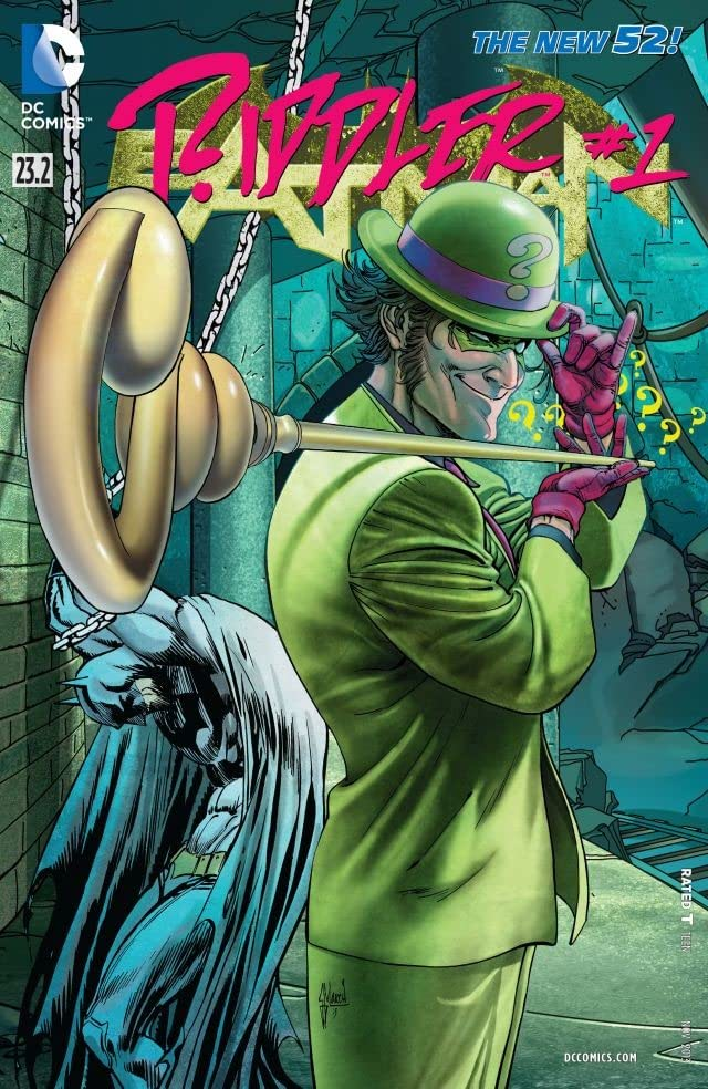 Batman (2011-) #23.2: Featuring Riddler