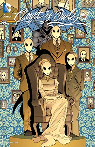 Batman and Robin (2011-2015) #23.2: Featuring Court of Owls