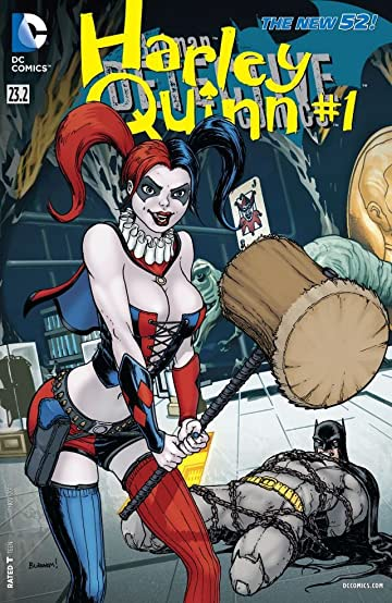 Detective Comics (2011-) #23.2: Featuring Harley Quinn