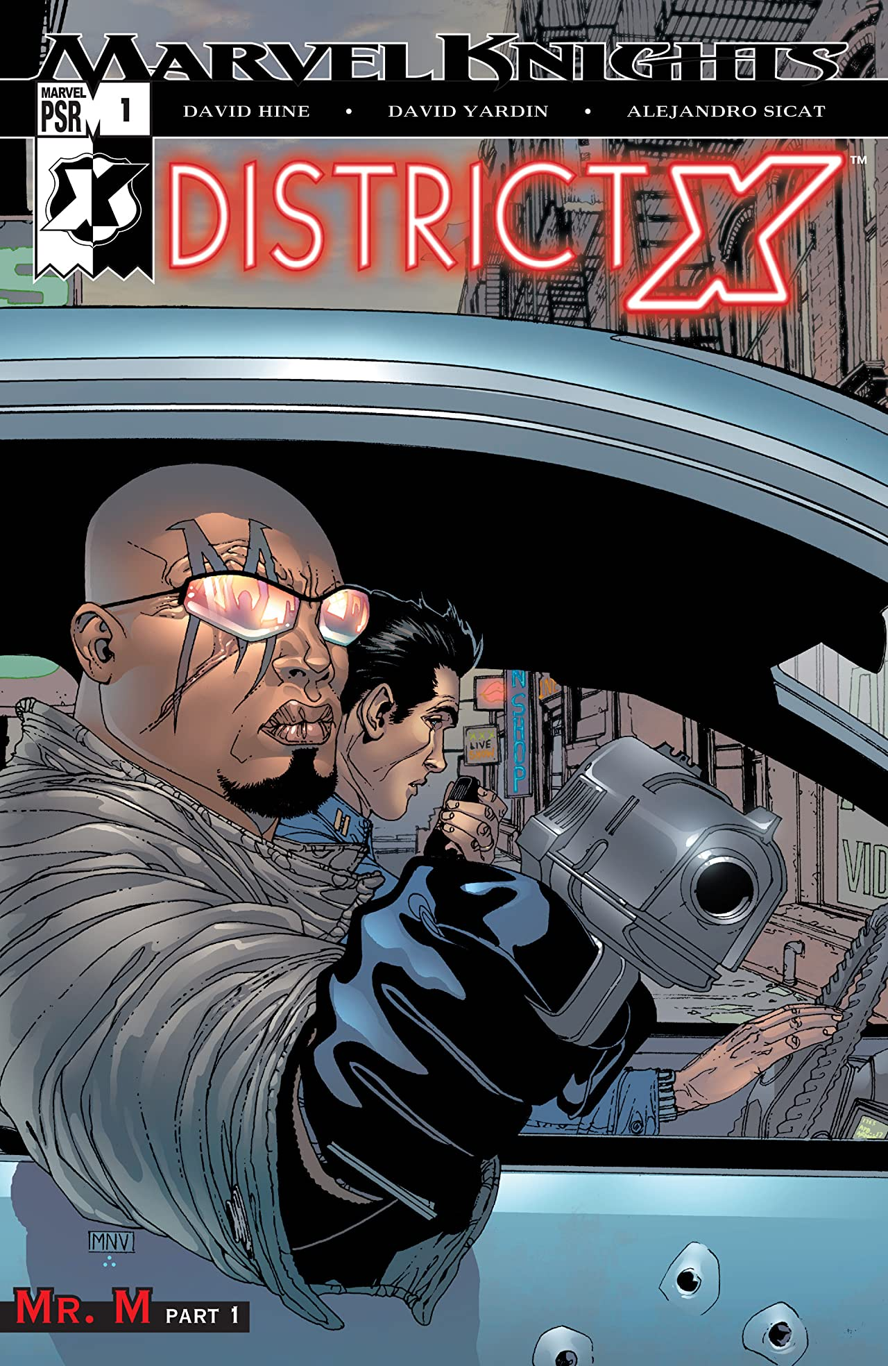 District X (2004-2005) #1