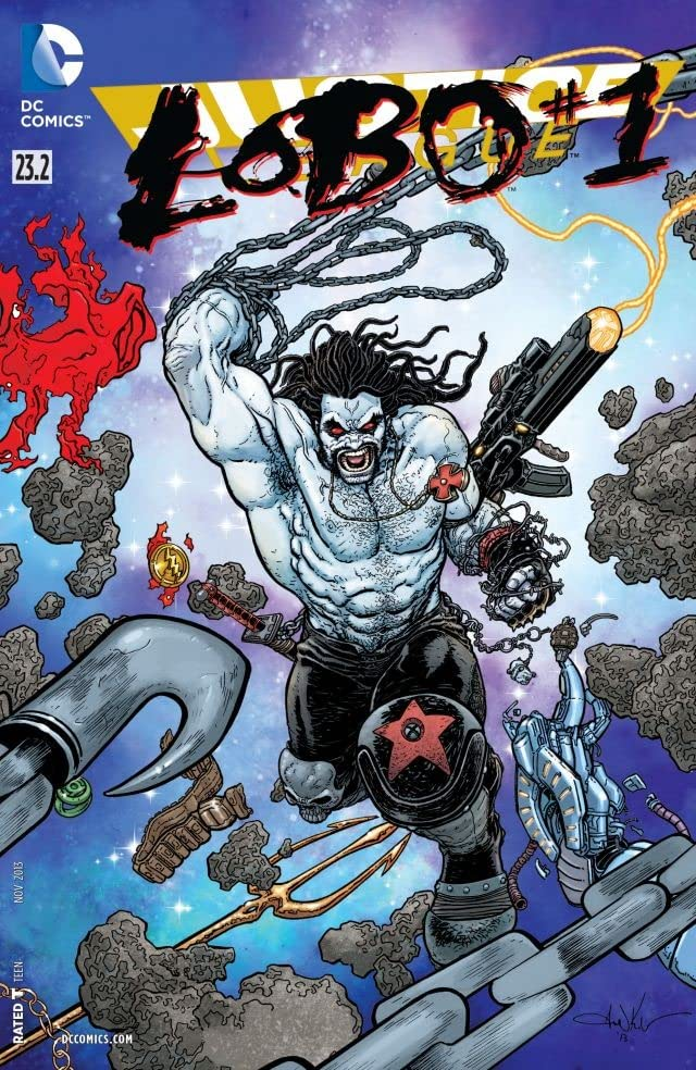 Justice League (2011-) #23.2: Featuring Lobo