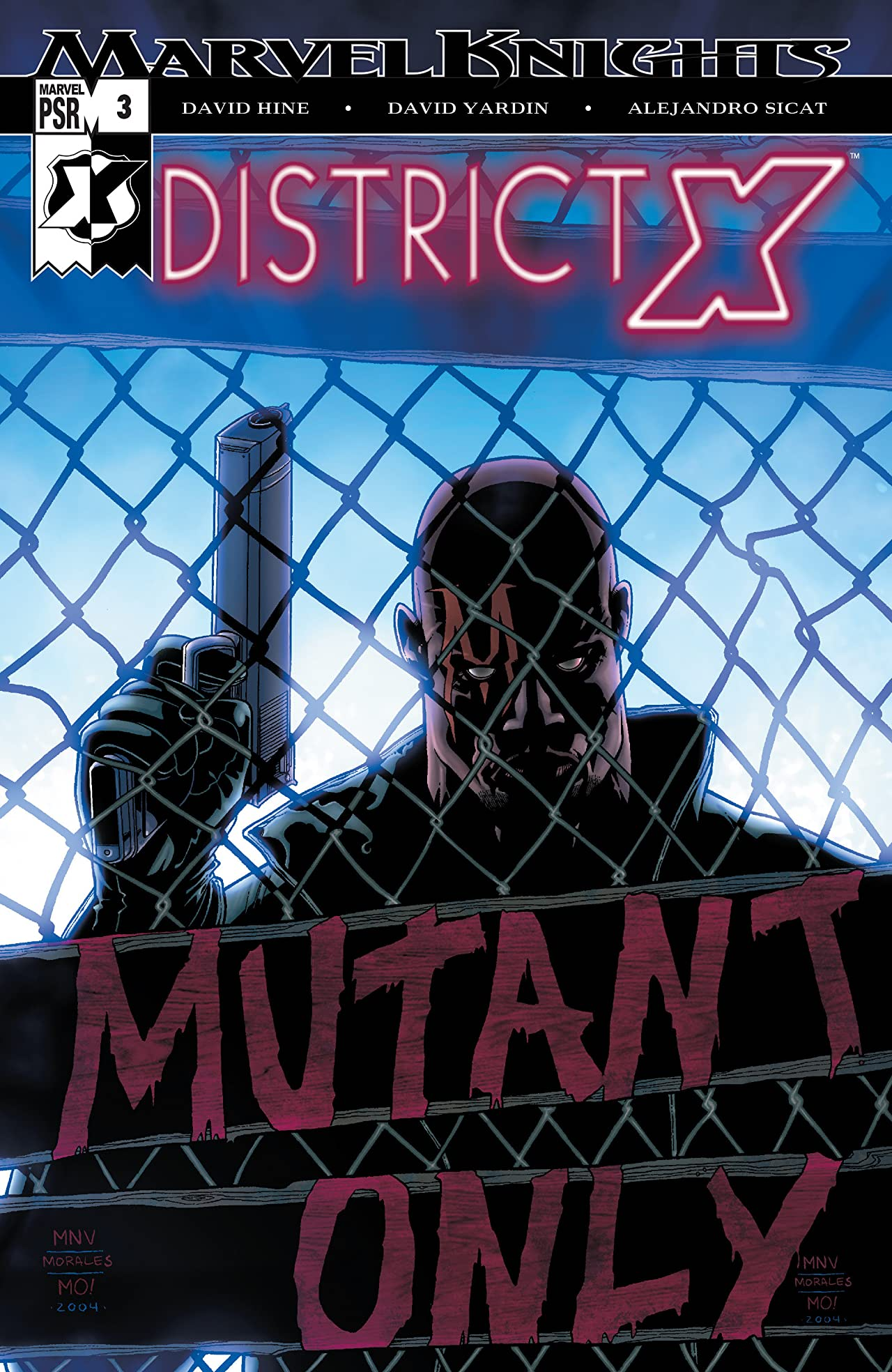 District X (2004-2005) #3