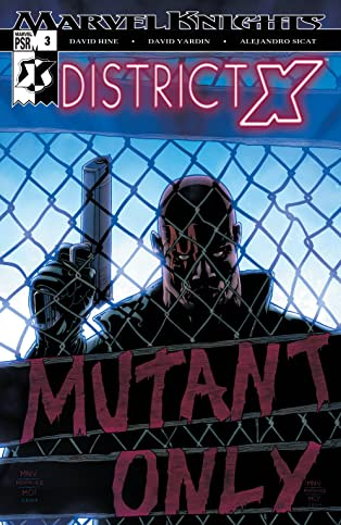District X (2004-2005) #3