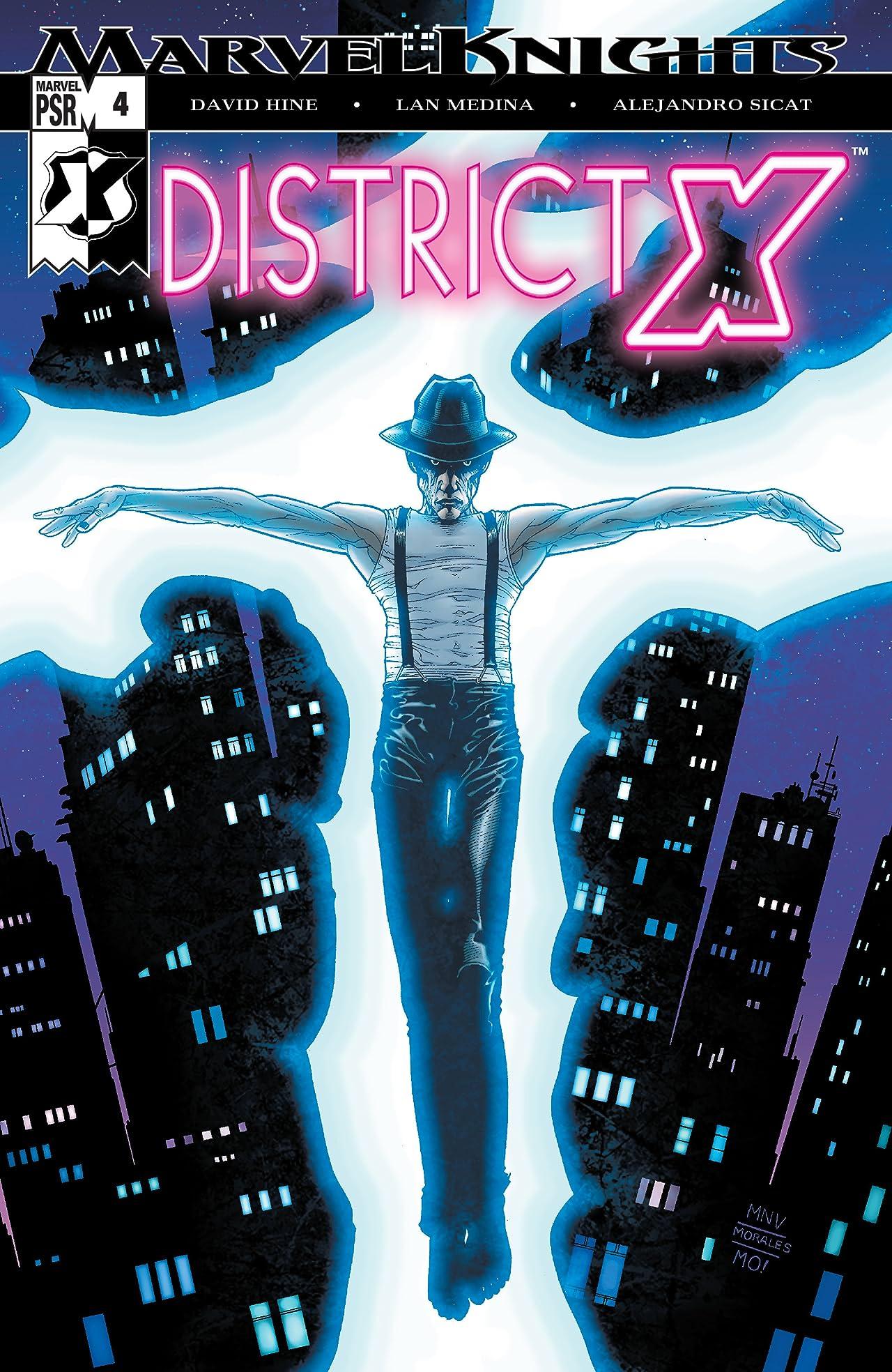 District X (2004-2005) #4