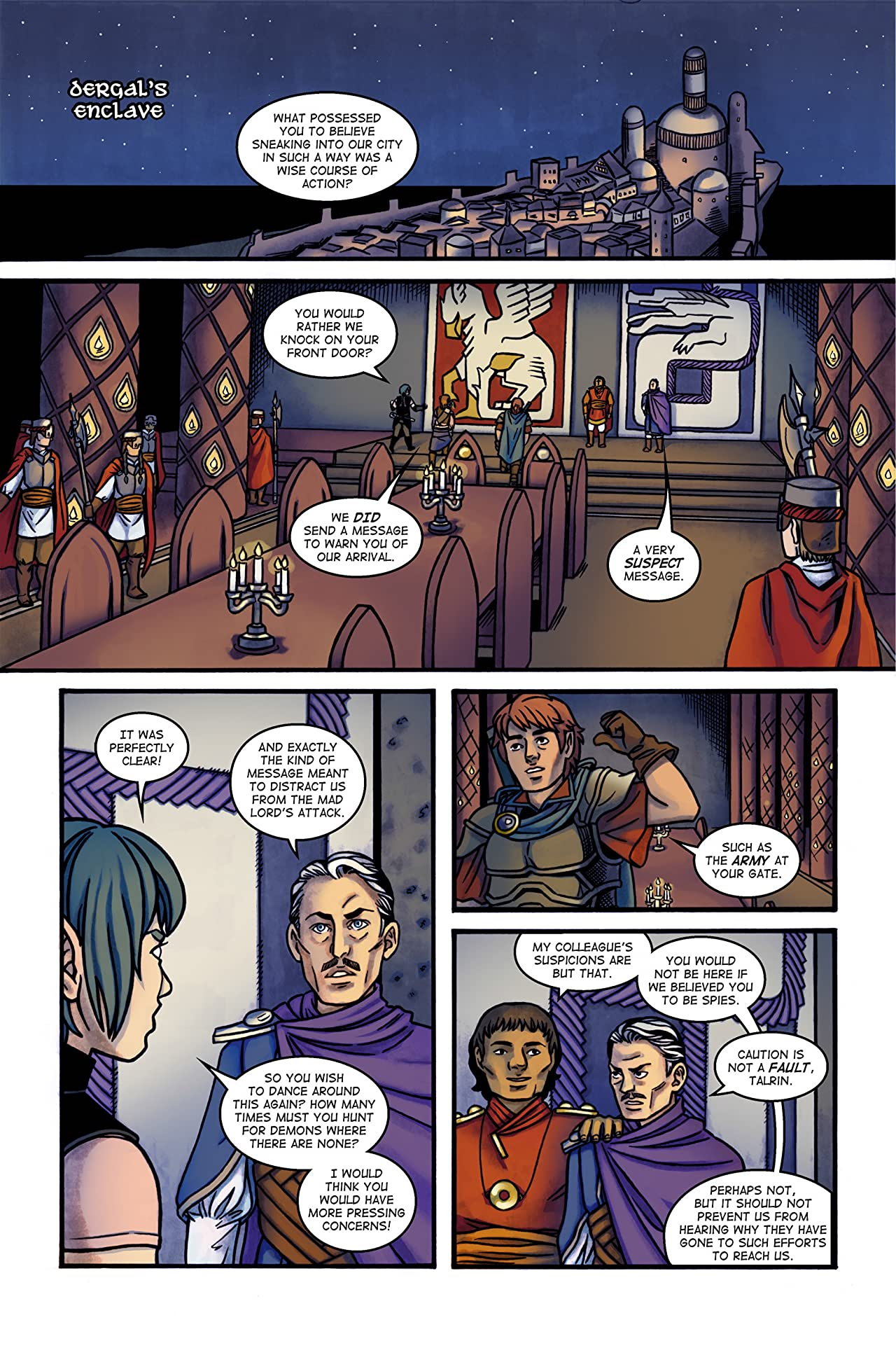 Of Stars and Swords #3