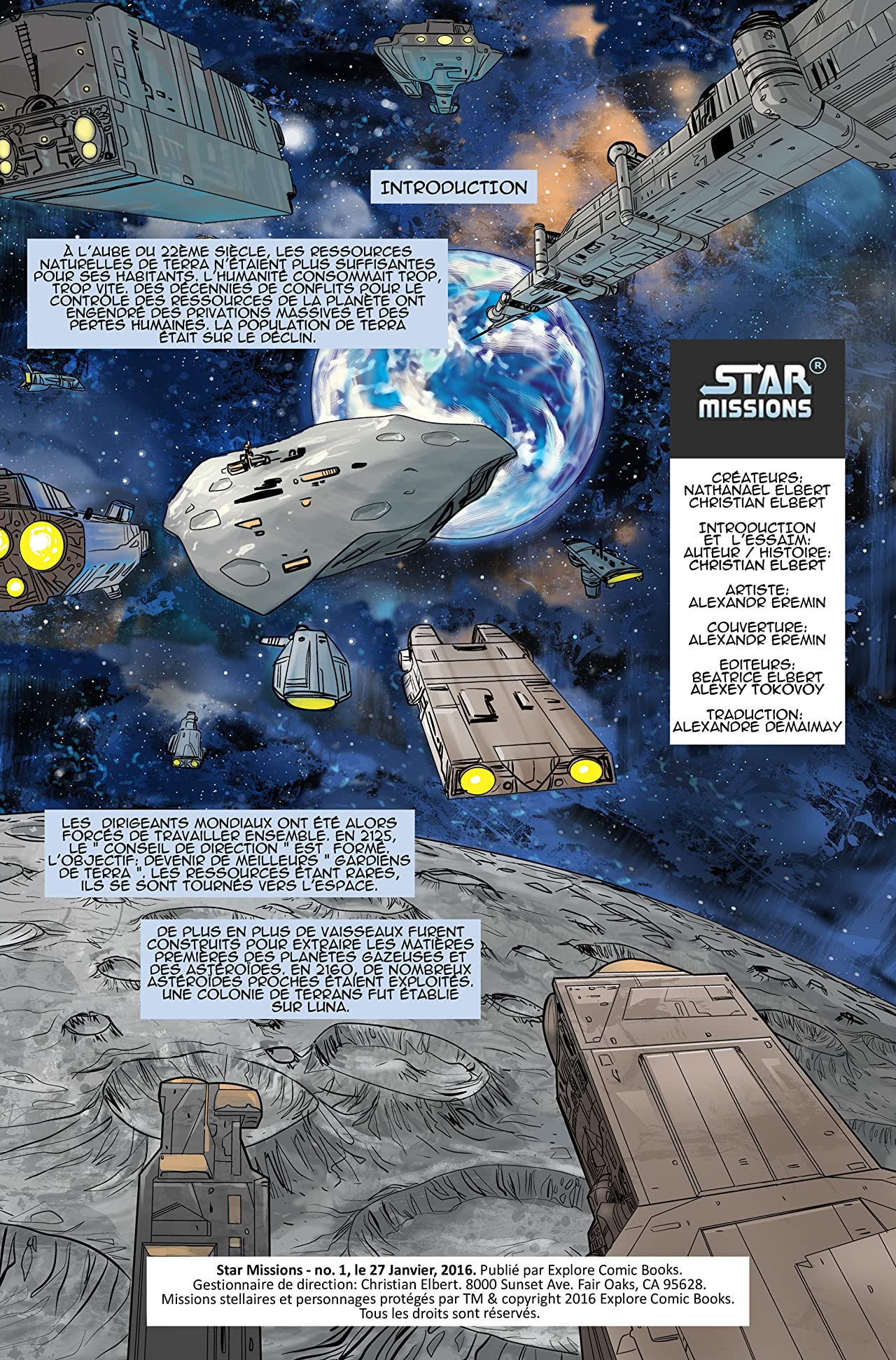 Star Missions - French #1
