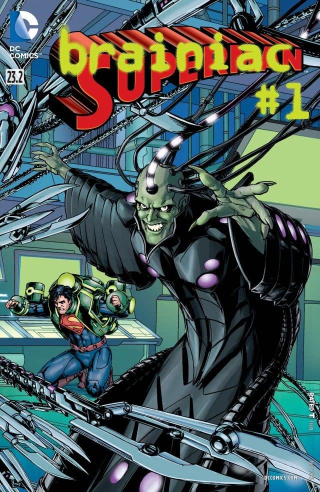 Superman (2011-2016) #23.2: Featuring Brainiac
