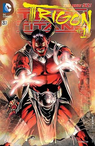 Teen Titans (2011-2014) #23.1: Featuring Trigon