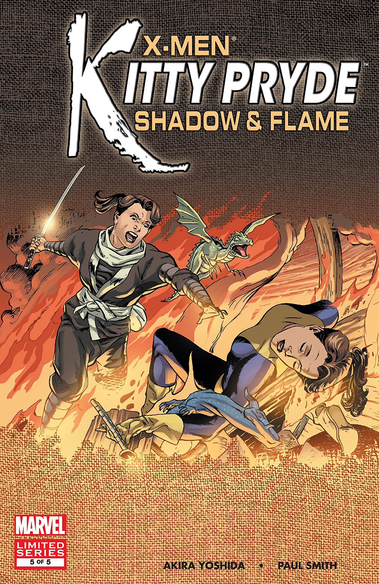 X-Men: Kitty Pryde - Shadow & Flame (2005) #5 (of 5)