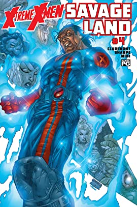 X-Treme X-Men: The Savage Land (2001-2002) #4