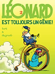 Léonard Vol. 2: Léonard est toujours un génie !