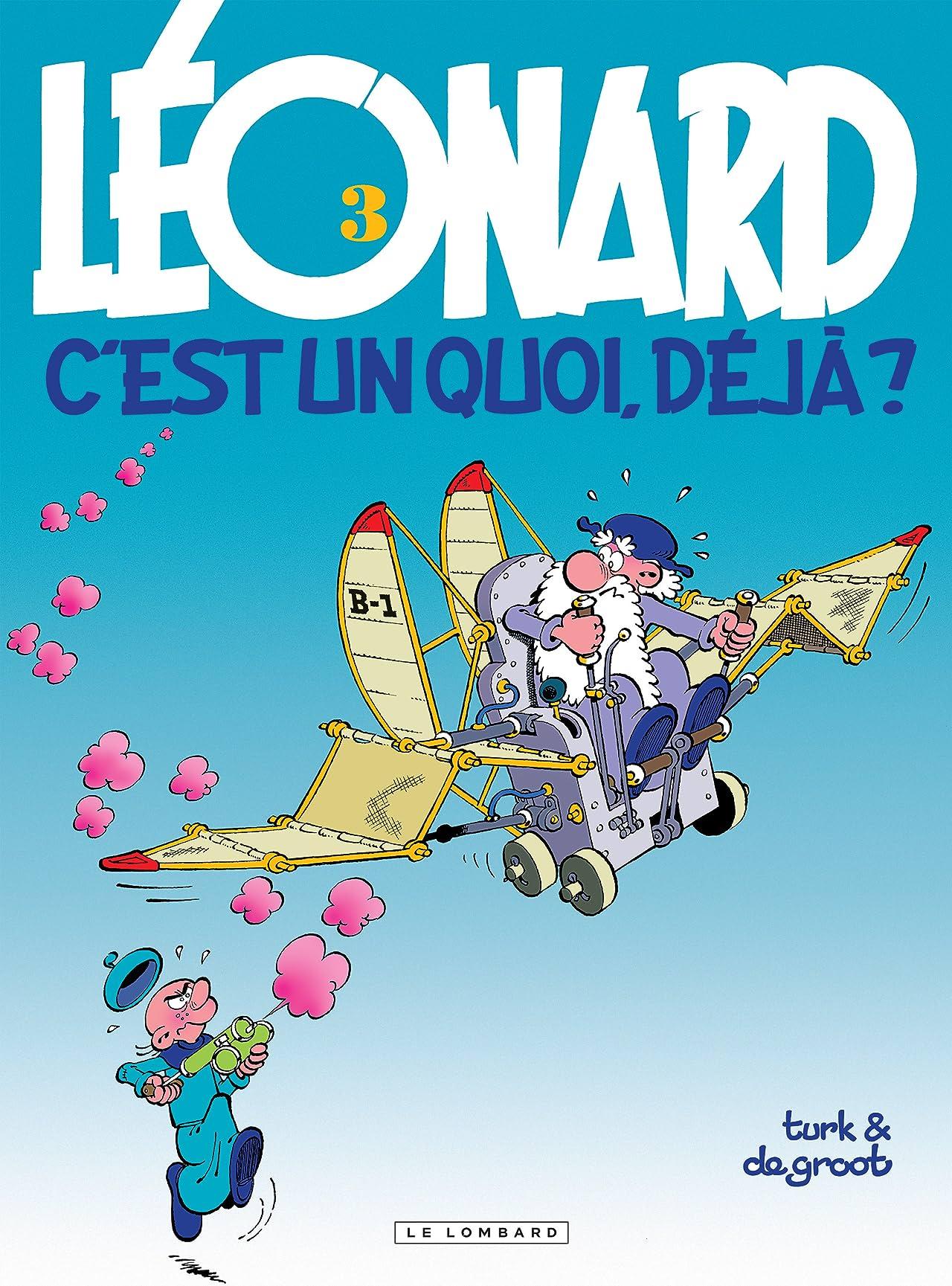 Léonard Vol. 3: Léonard, c'est un quoi, déjà ?