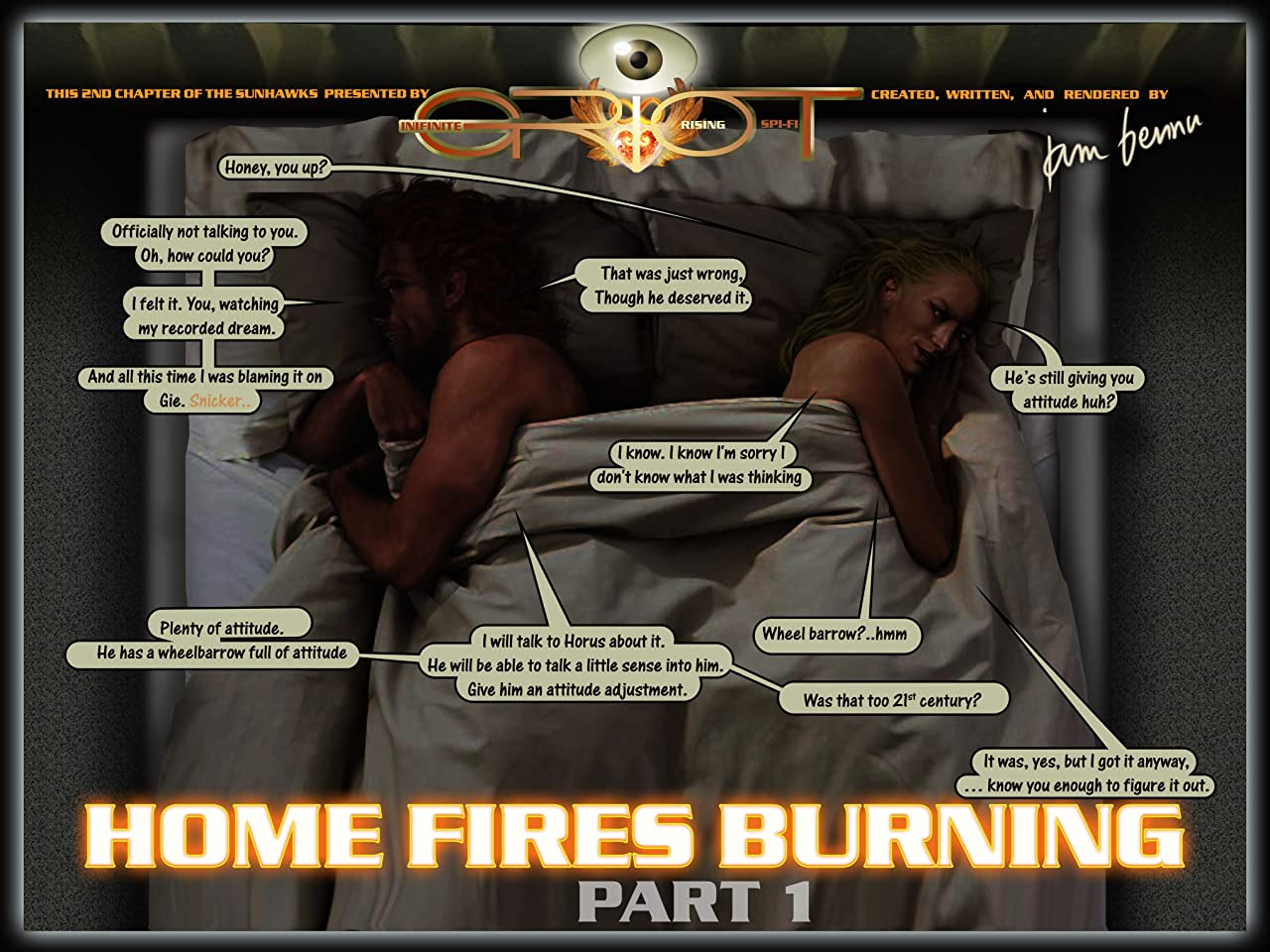 The Sunhawks Vol. 1: Home Fires Burning - Part 1