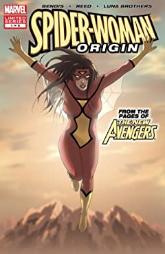 Spider-Woman: Origin #1 (of 5)