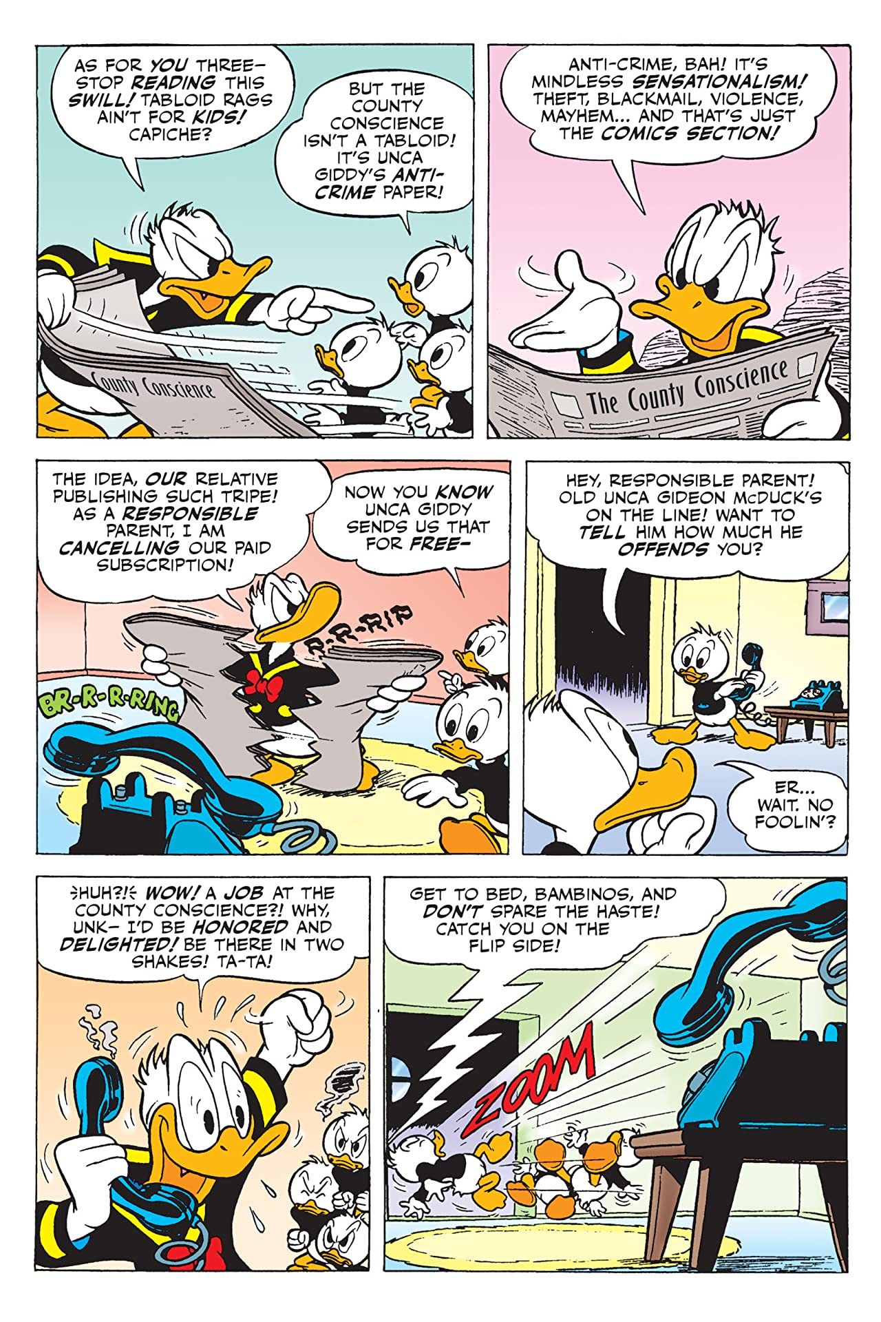 Donald Duck Vol. 1: Shellfish Motives