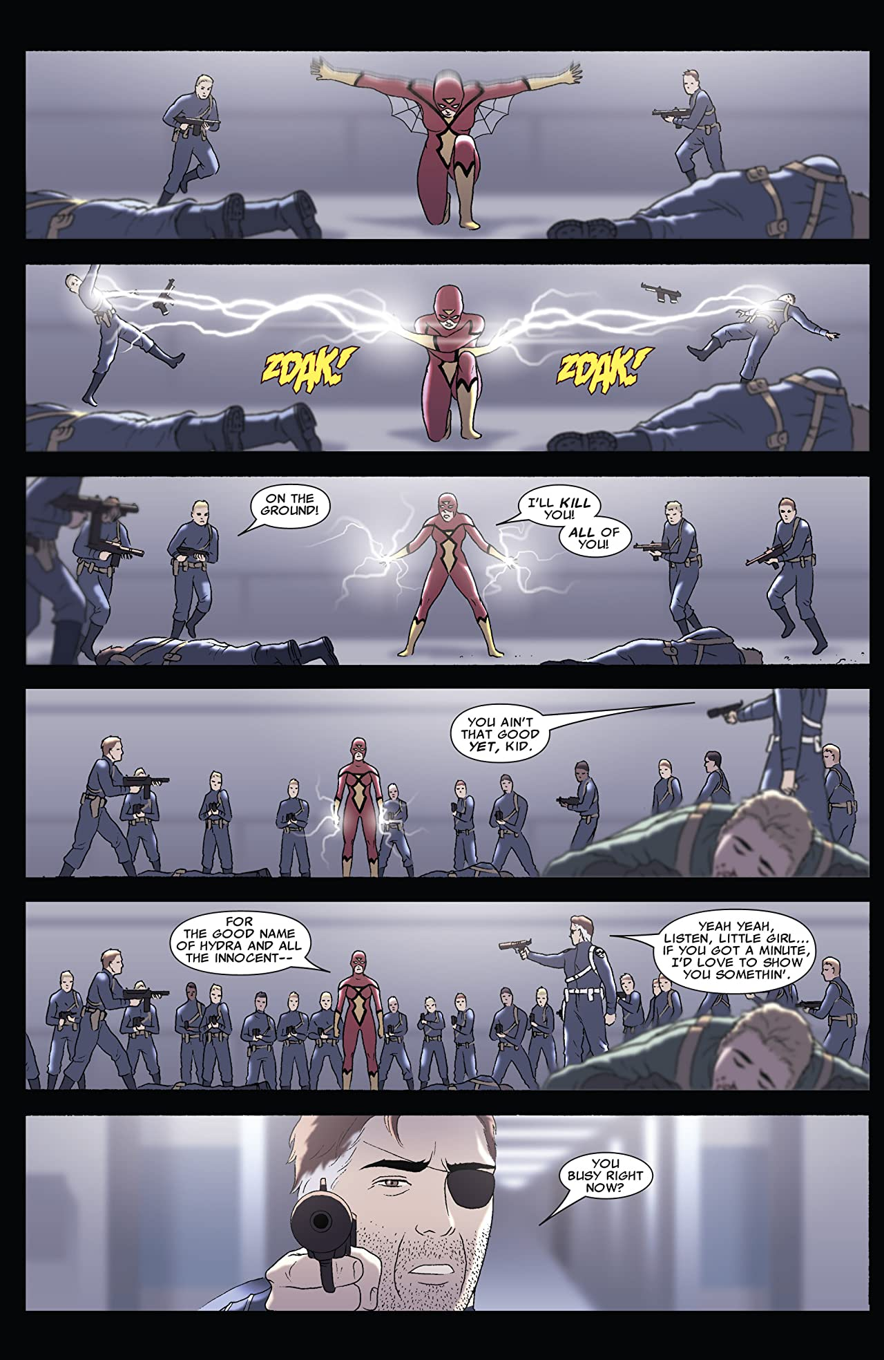 Spider-Woman: Origin #3 (of 5)