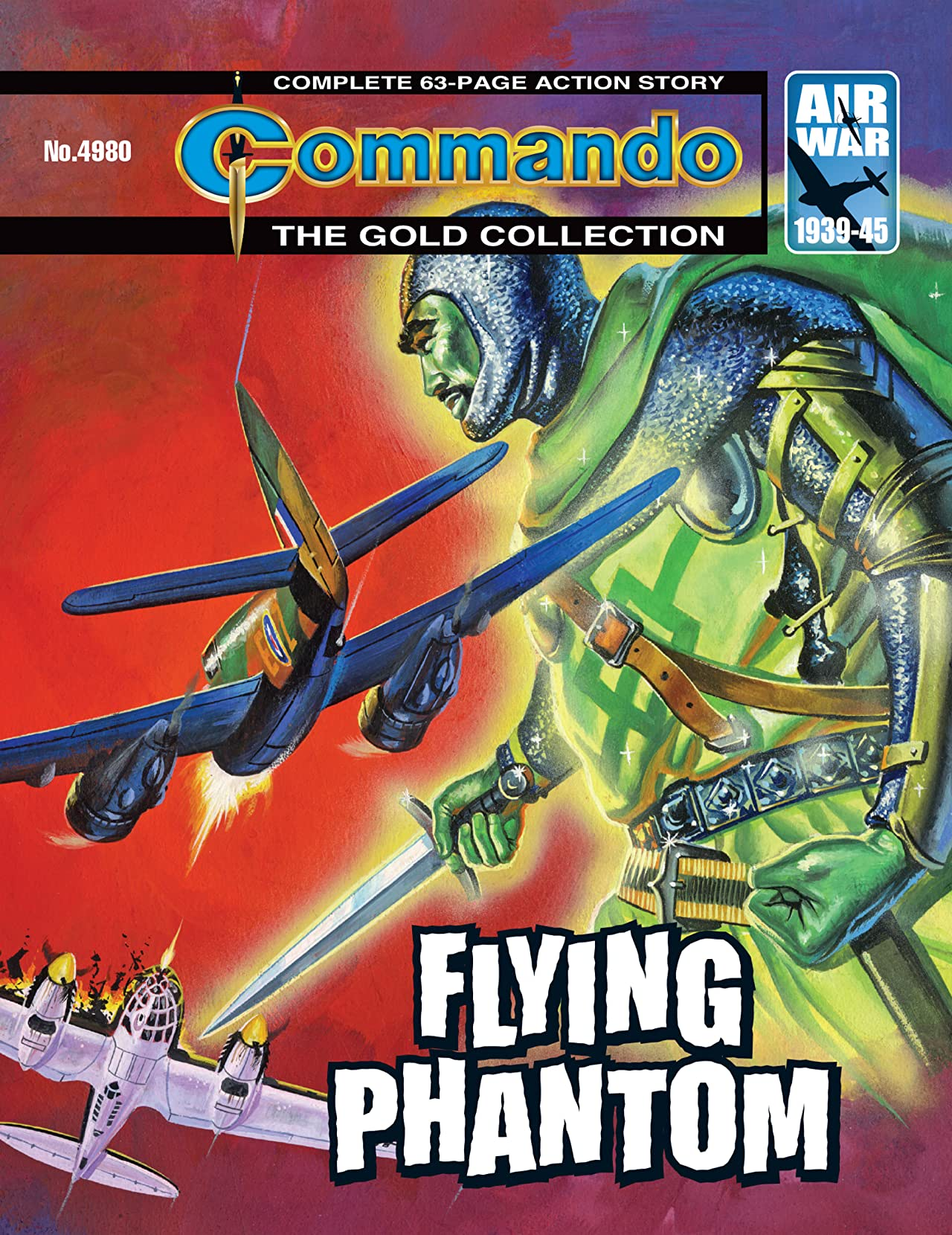 Commando #4980: Flying Phantom
