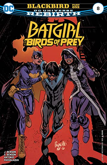 Batgirl and the Birds of Prey (2016-) #8