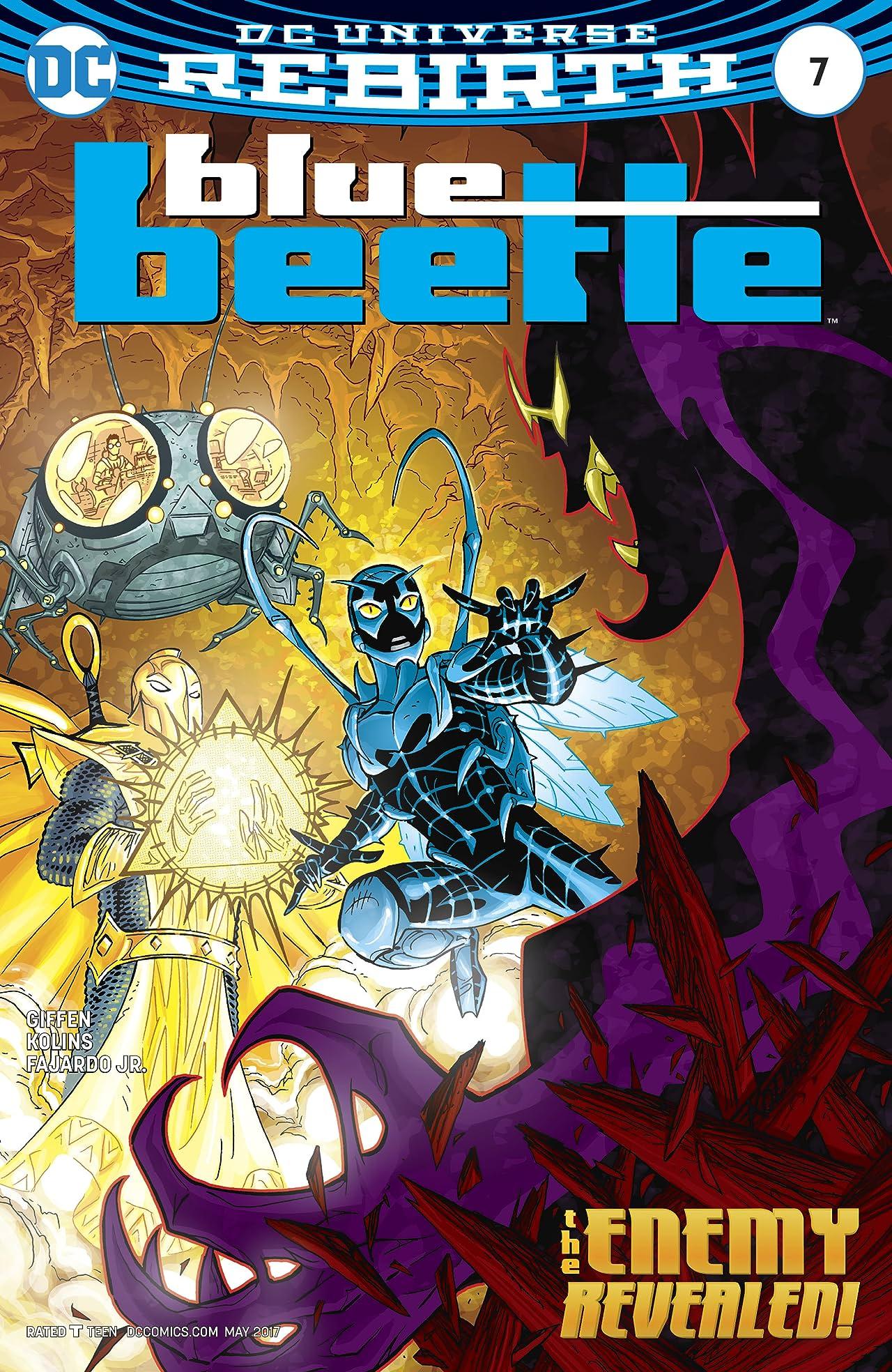 Blue Beetle (2016-) #7