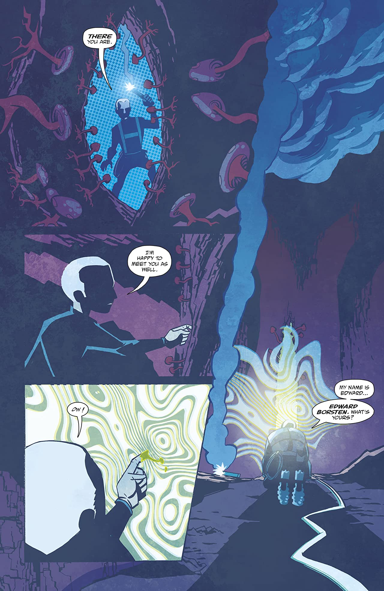 Cave Carson Has a Cybernetic Eye (2016-2017) #6