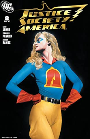 Justice Society of America (2007-2011) No.8