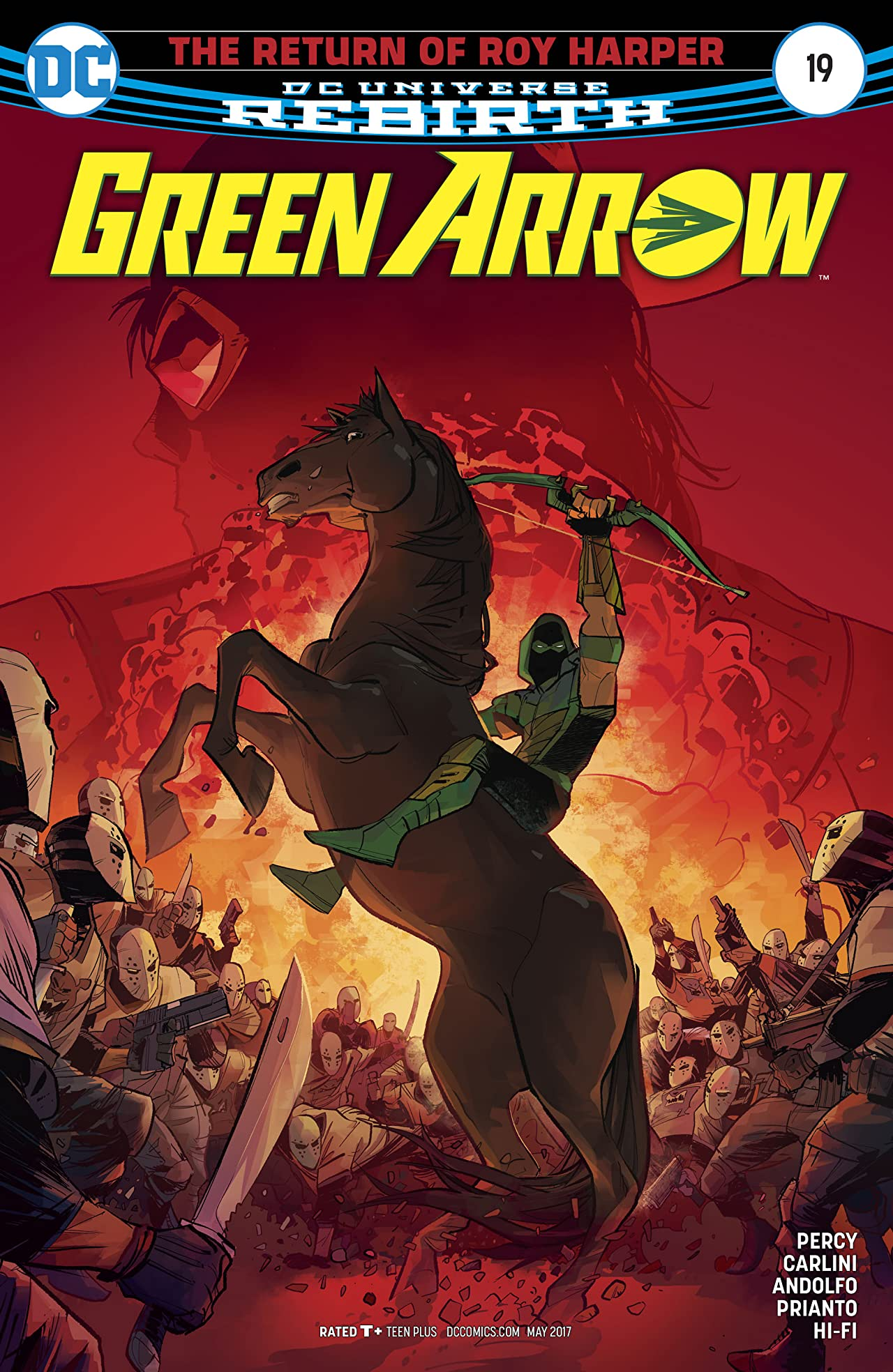 Green Arrow (2016-) #19