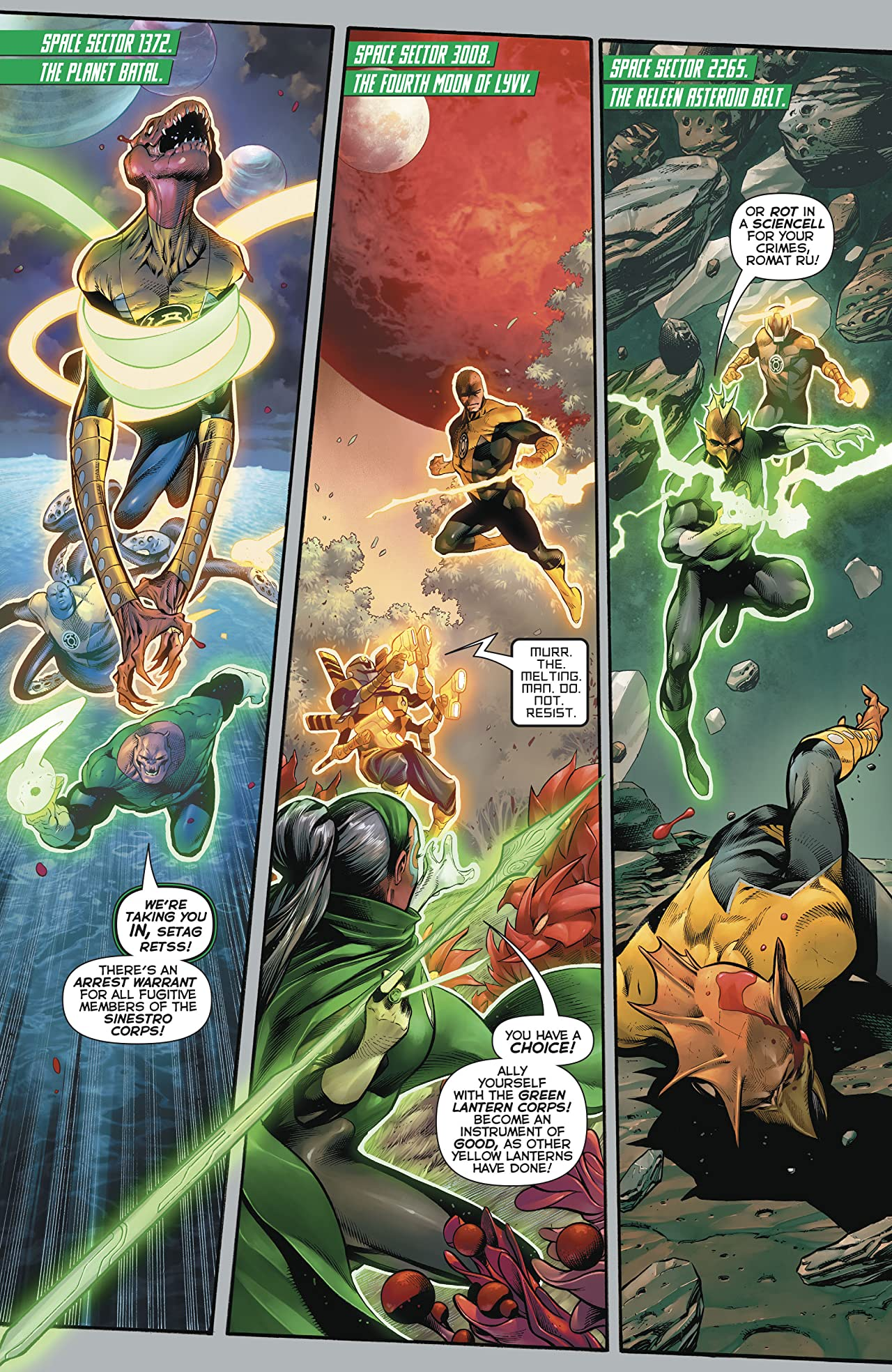 Hal Jordan and The Green Lantern Corps (2016-) #16