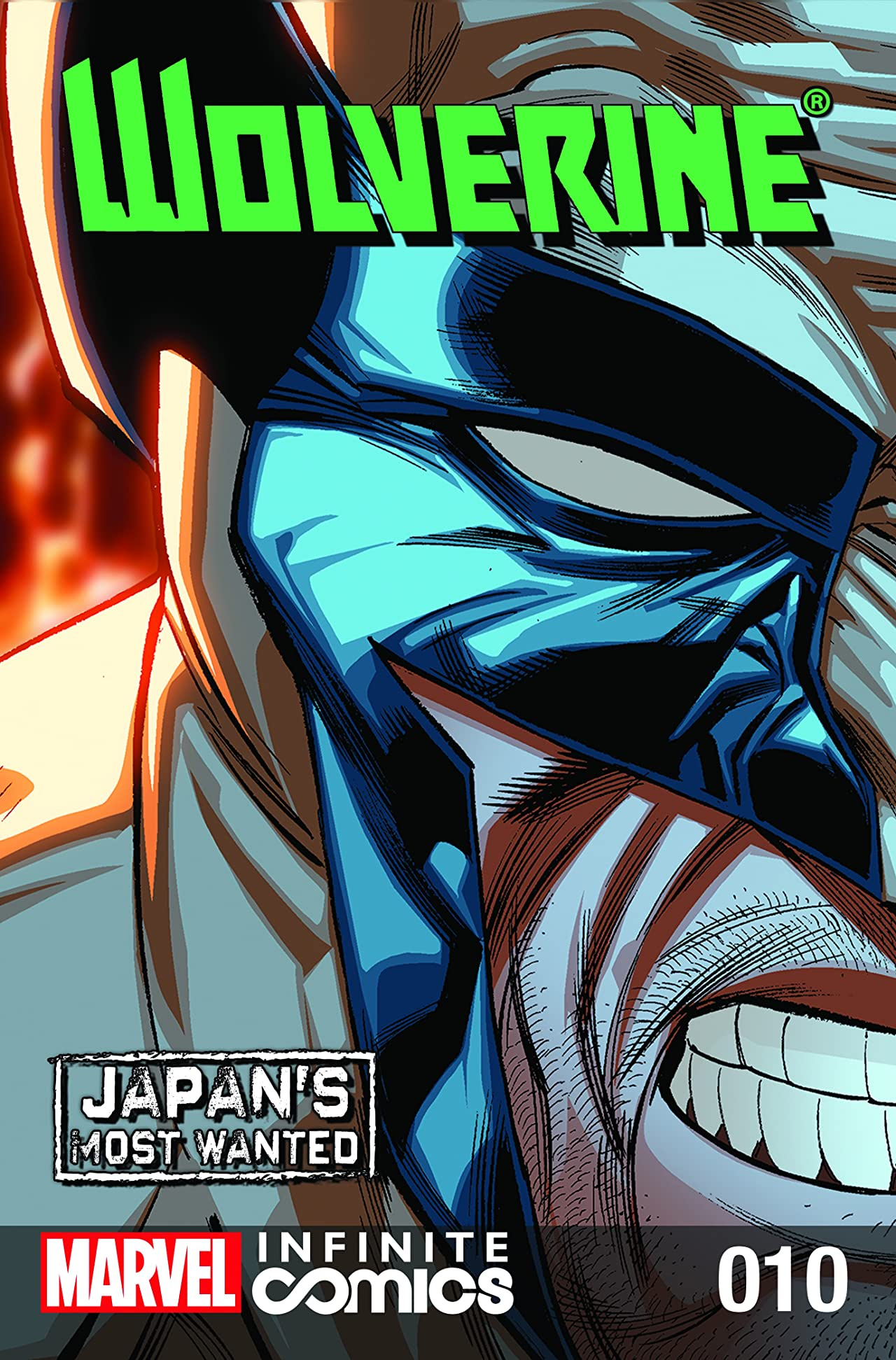 Wolverine: Japan's Most Wanted Infinite Comic #10
