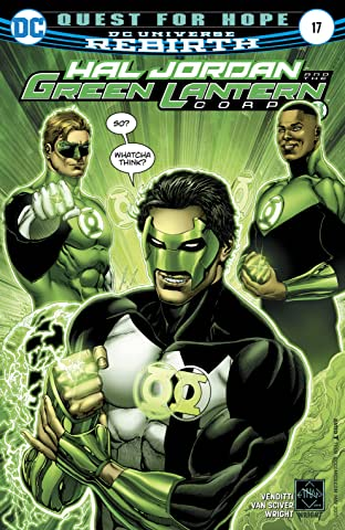 Hal Jordan and the Green Lantern Corps (2016-2018) #17
