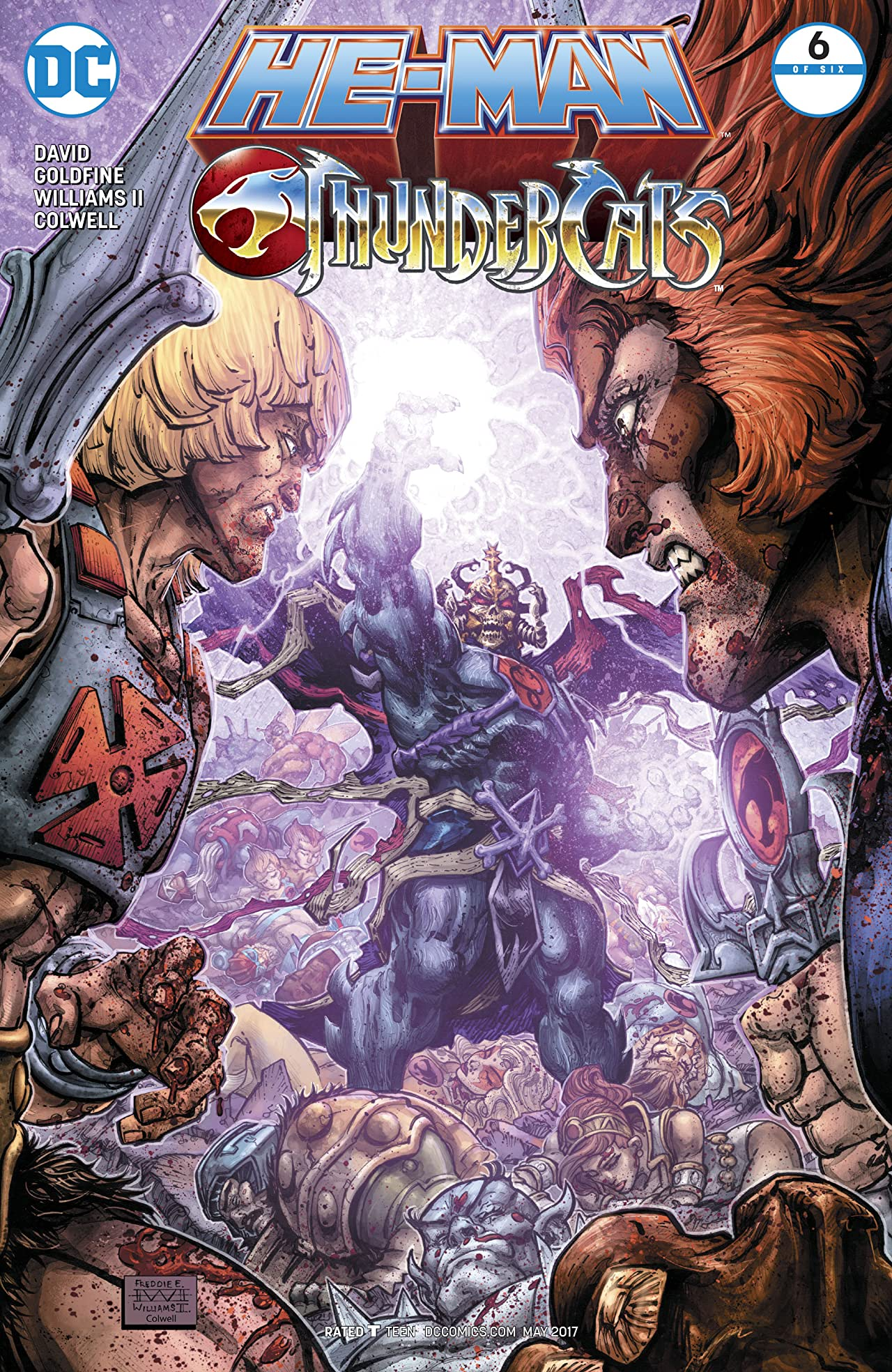 Image result for he-man/thundercats issue 5