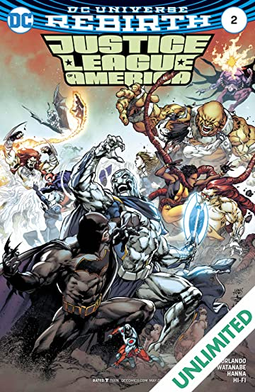 Justice League of America (2017-) #2