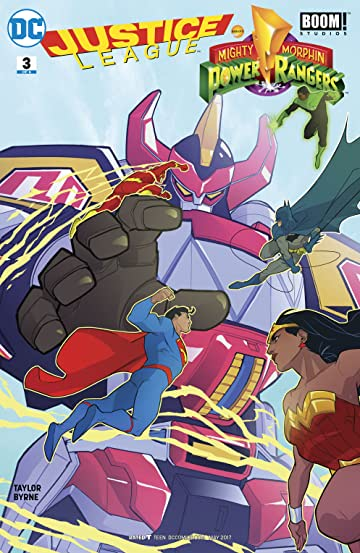 Justice League/Power Rangers (2017) #3