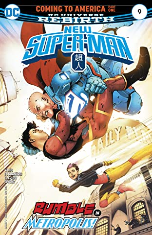 New Super-Man (2016-2018) #9