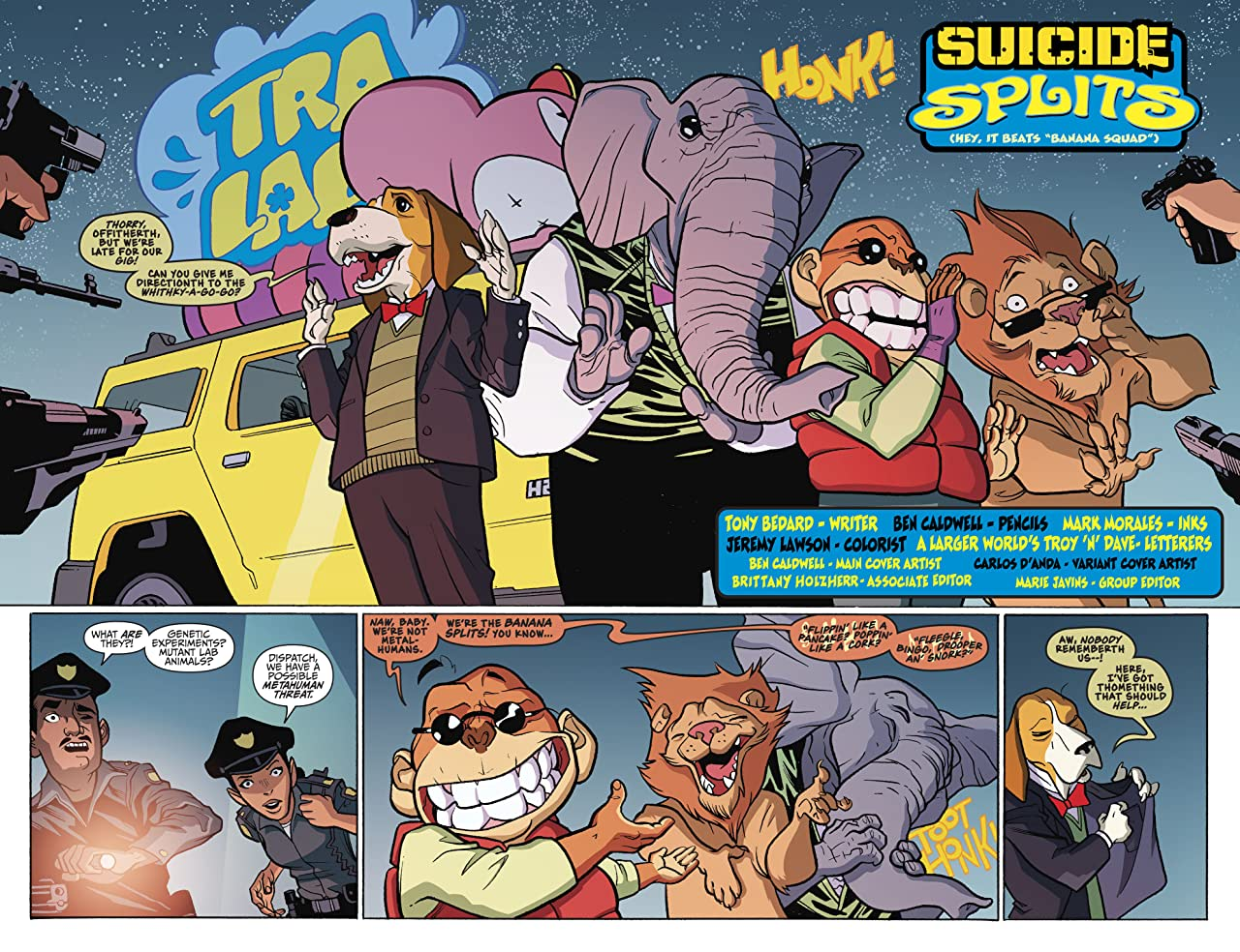 Suicide Squad/Banana Splits Special (2017) #1