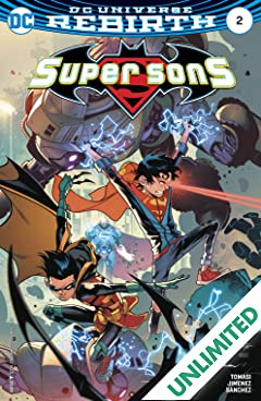 Super Sons (2017-2018) #2