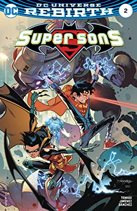 Super Sons (2017-2018) No.2