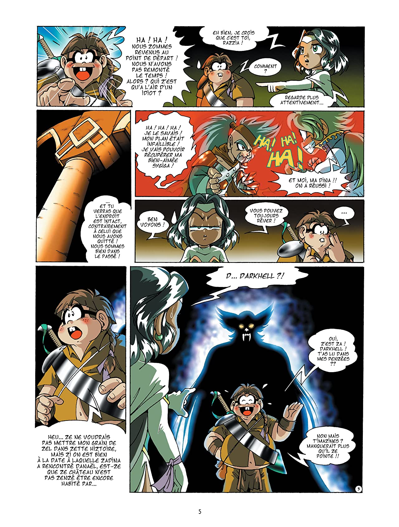 Les Légendaires Vol. 6: Main du futur