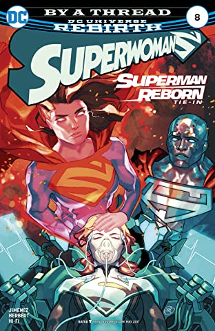 Superwoman (2016-2017) No.8