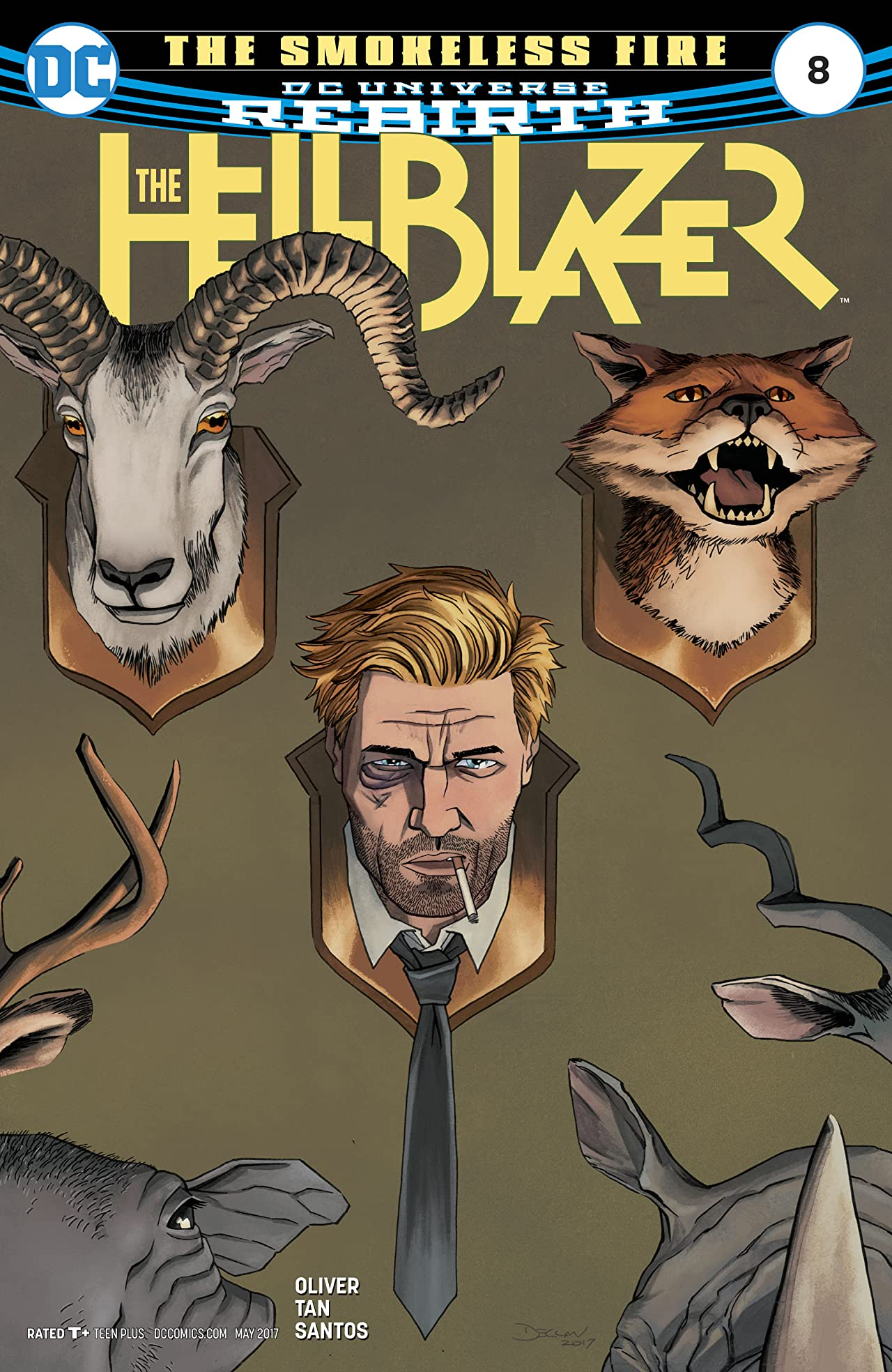 The Hellblazer (2016-) #8