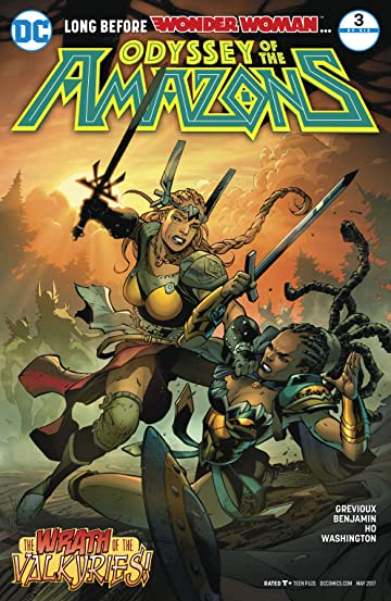 The Odyssey of the Amazons (2017-) #3