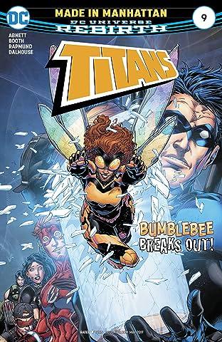 Titans (2016-2019) #9