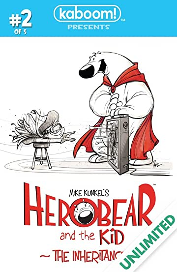 Herobear and the Kid: The Inheritance #2 (of 5)