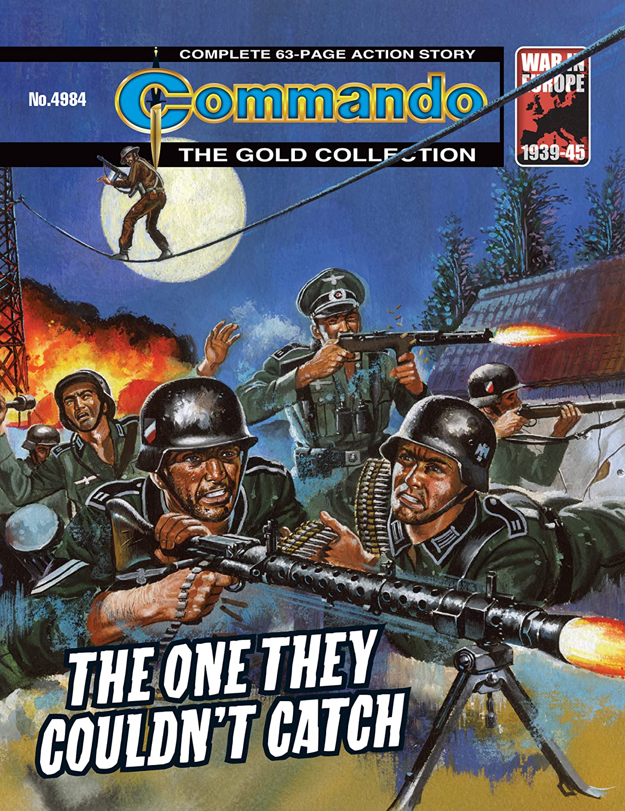 Commando #4984: The One They Couldn't Catch