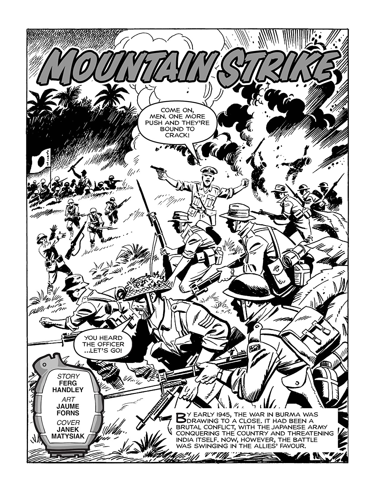 Commando #4985: Mountain Strike